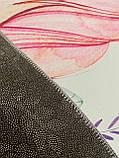 """Бесплатная доставка! Коврик для детской  """"Единорог и фламинго"""" (2*3 м) светло-голубой, фото 6"""