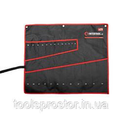 Чехол для гаечных ключей 25 карманов INTERTOOL BX-9011