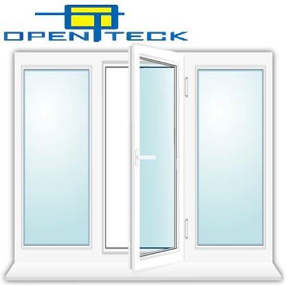 Окно металлопластиковое Open Teck 2000 x 1350