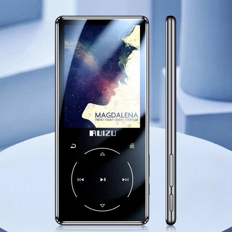 MP3 Плеер RuiZu D16 Max 16Gb Bluetooth 4.1 Original 2,4 дюймовый дисплей (Черный)