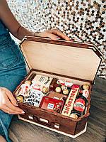 Подарунок дерев'яну валізу
