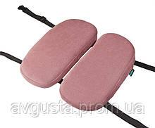 Детская ортопедическая подушка для сидения - School Comfort (для детей от 5 до 10 лет) розовый