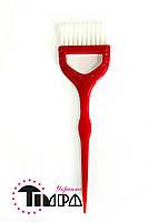 Кисть для окрашивания волос широкая цветная
