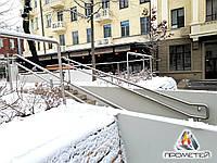 Двойной поручень для лестниц в парках, на набережных, скверах, фото 1