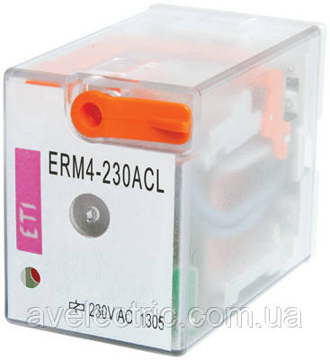Електромеханічне Реле ERM2-024AC 2p, ETI, 2473002