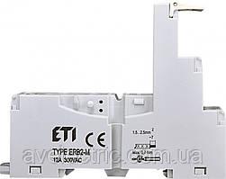 Цоколь ERB4-M тип M (для ERM4), ETI, 2473015
