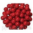Посыпка шарики Насыщенно Красные 7 мм, 50 грамм, фото 2