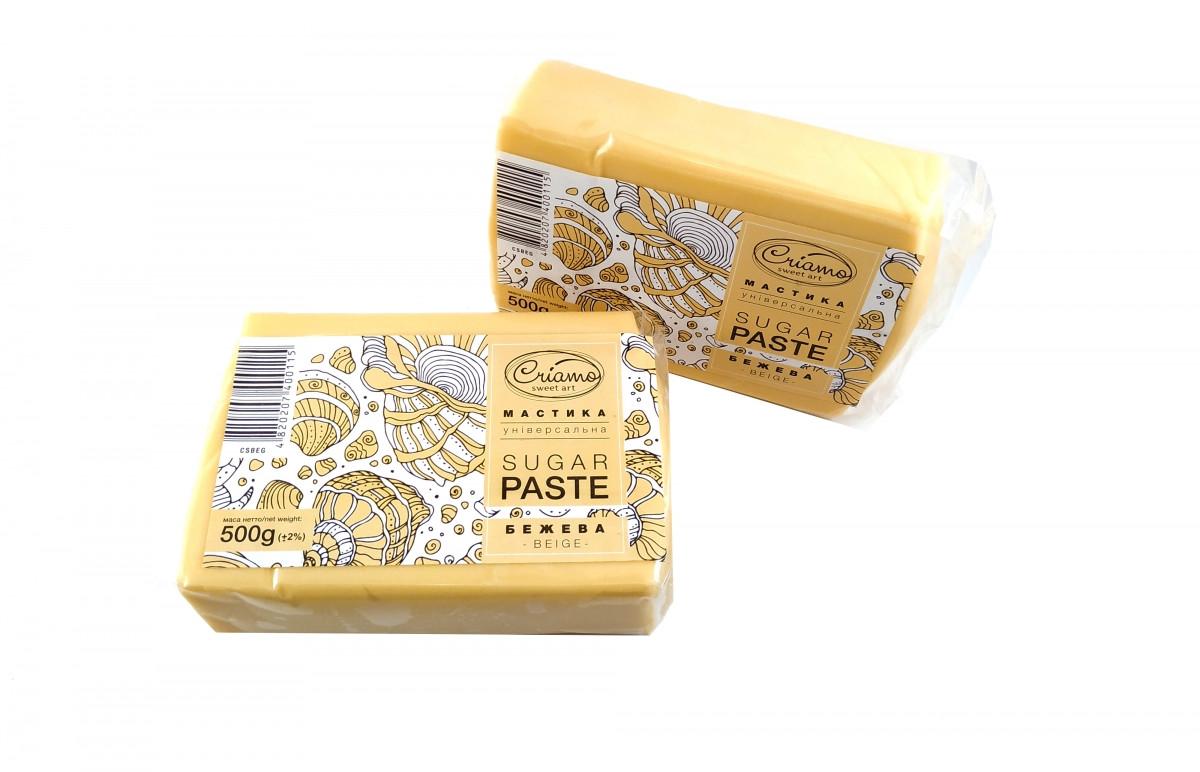Мастика для тортов Criamo обтяжка 1 кг Цвет кожи