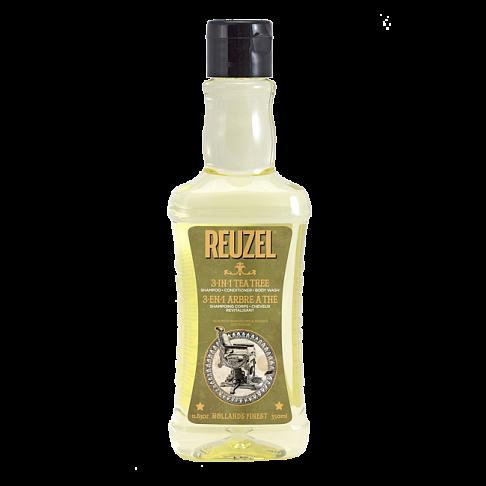 Мужской шампунь 3в1 Reuzel Tea Tree Shampoo 350мл