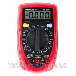 Мультиметр цифровий INTERTOOL MD 0001