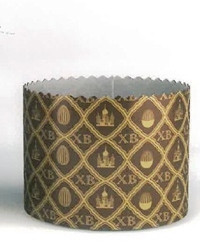 Форма для пасхи бумажная 90*90 мм, 225-250 грамм (5 шт)