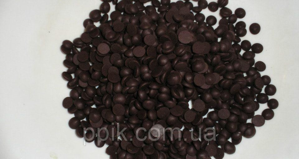 Шоколадные дропсы черные, 40% какао,( 0,5 кг)