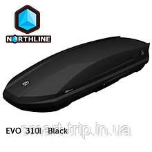 Бокс Northline EVOspace 330 л Black чорний глянець N0719002