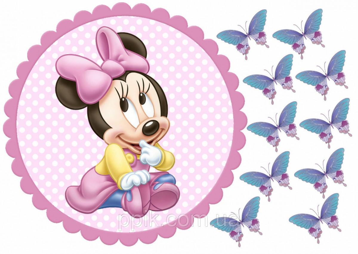 Вафельна картинка Міккі Маус 5