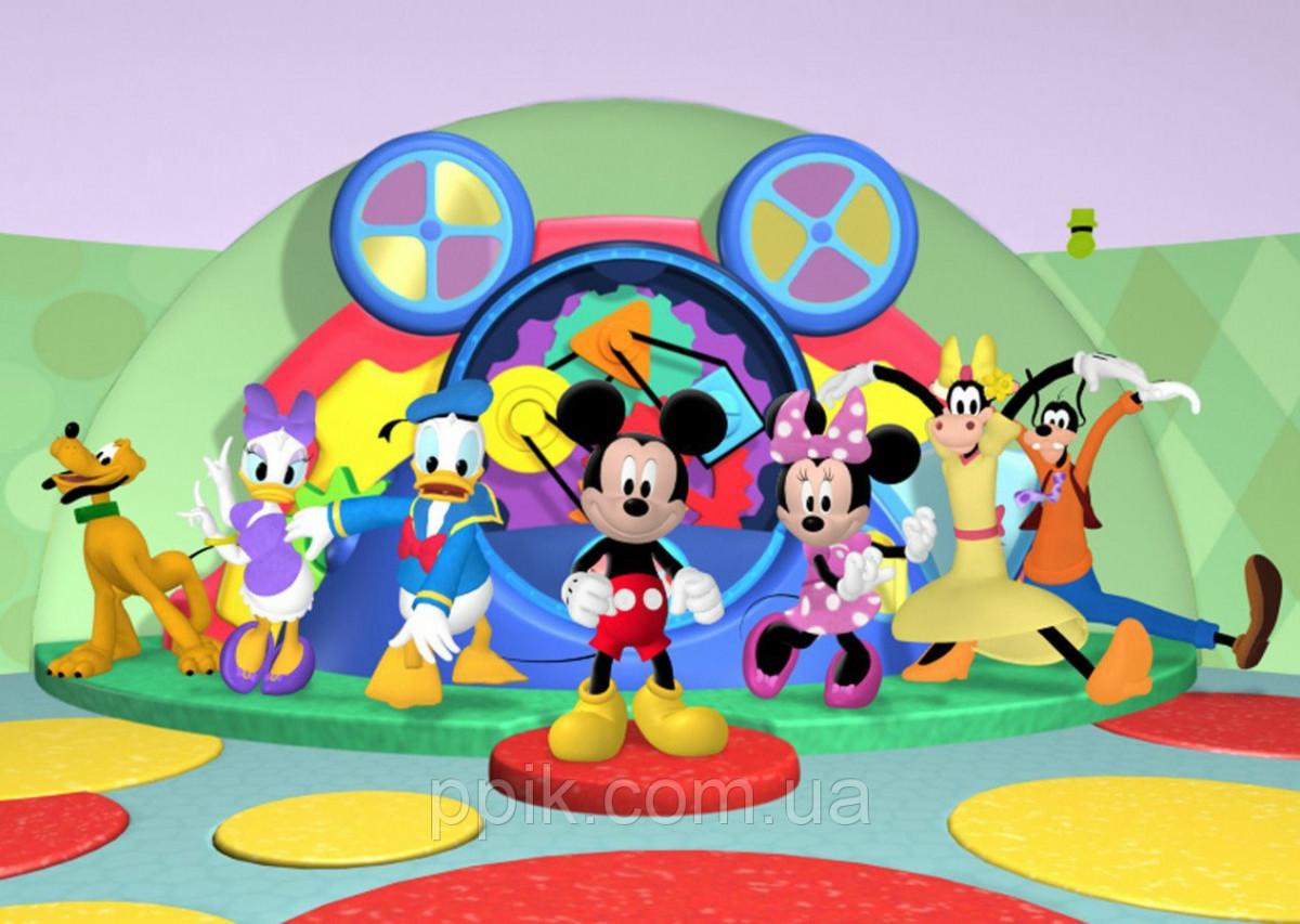 Вафельная картинка Микки Маус 12