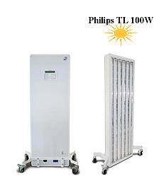 Аппарат, прибор для лечения псориаза Псоролайт Viola, 100-3 (уф, кварцевая, ультрафиолетовая лампа)