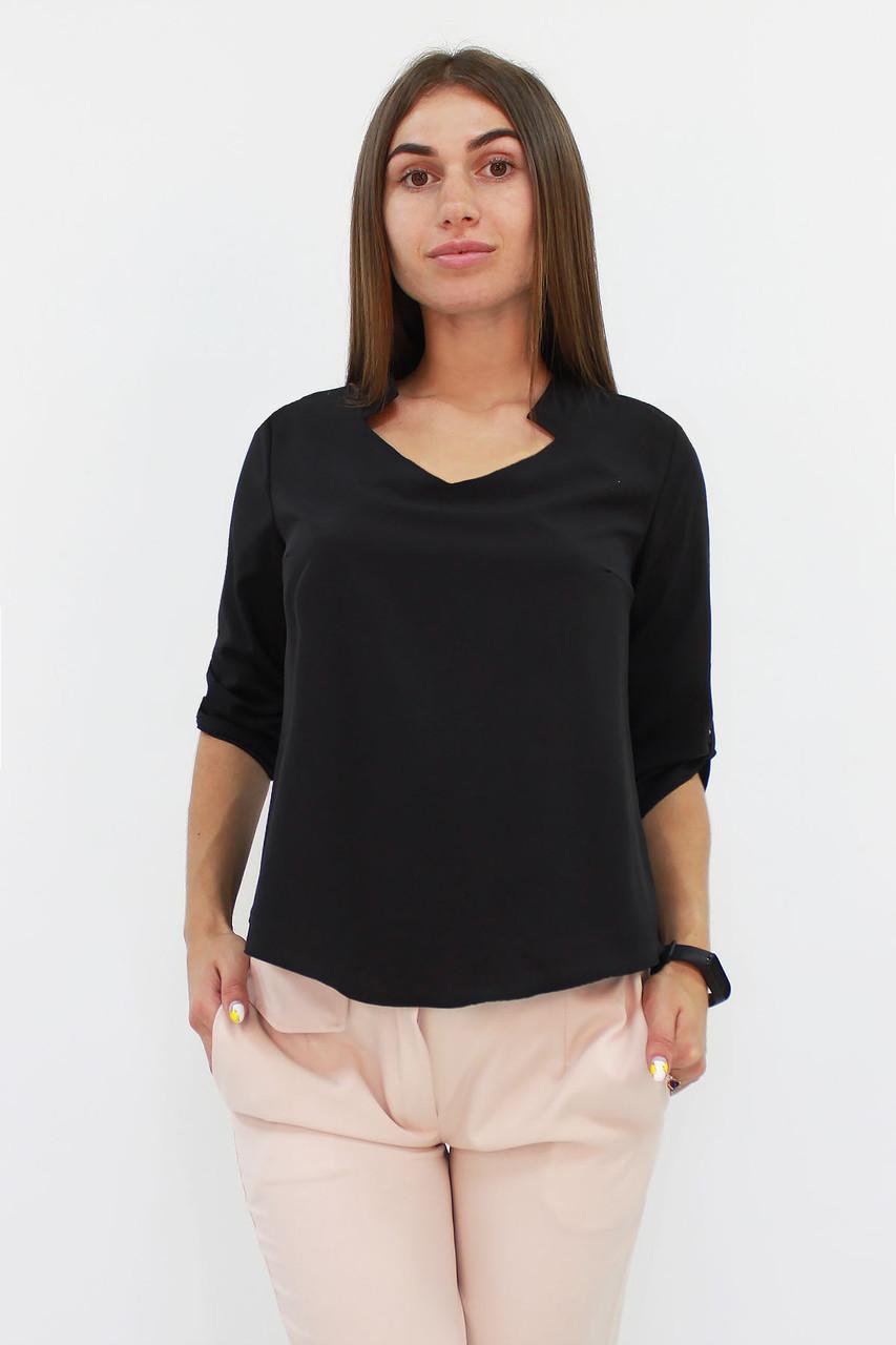 Стильная женская блузка Rina, черный