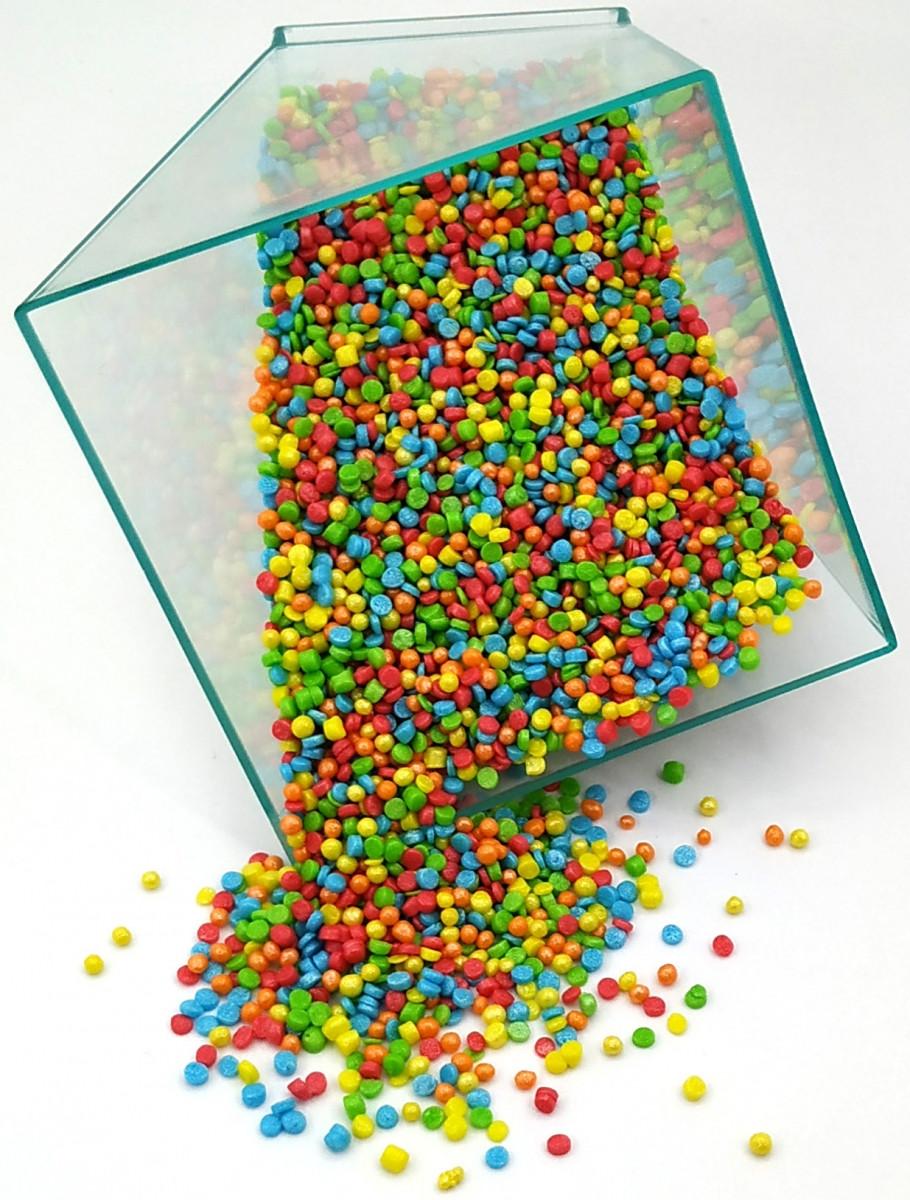 Посыпка кондитерская конфетти мини 50 грамм