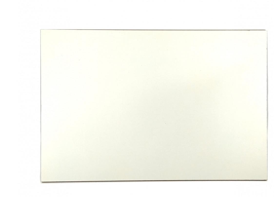 Прямоугольная подложка ДВП 30*30 см, Белая (1 шт.)