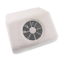 Настольная маникюрная вытяжка пылесос Nail Dust Collector, стандарт - мраморная белая, фото 1