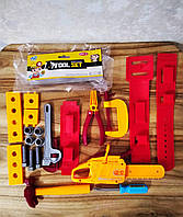 Детский набор инструментов Tool Set   Детские игрушки   Набор инструментов для мальчика  