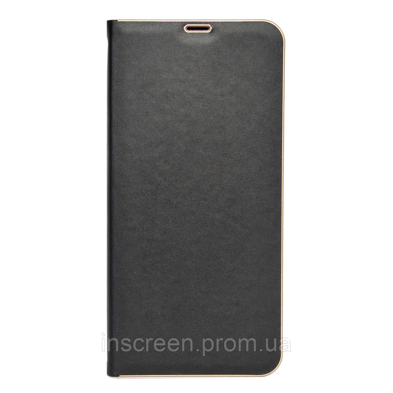 Чохол-книжка Florence TOP 2 Samsung A515F A51 (2020) під шкіру чорний