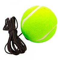 Тренажер для боксу м'яч FIGHT BALL файт бол тенісний м'ячик на резинці Зелений