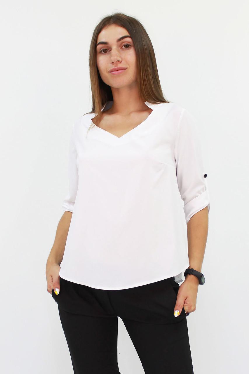 Стильная женская блузка Rina, белый