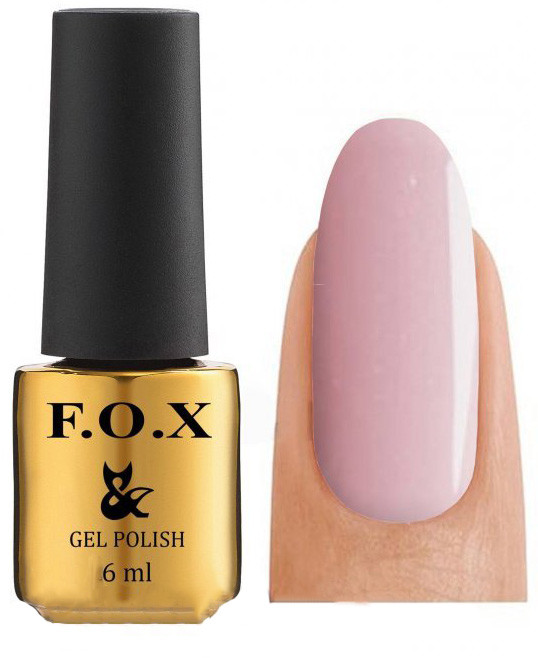 Гель - лак FOX для ногтей gold French №723 12 мл