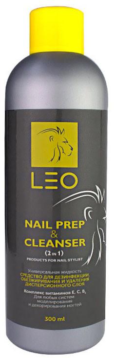 Засіб для видалення липкого шару Cleanser & Nail prep LEO 250 мл