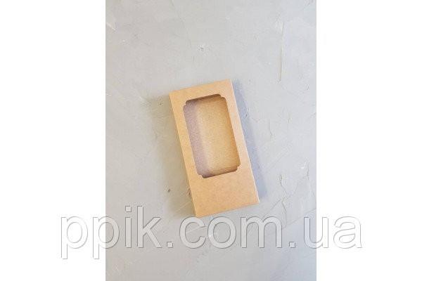Коробка для шоколада, Крафт 160х80х17 мм. 3 шт