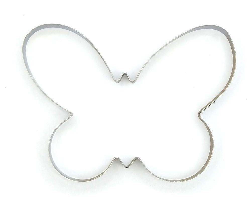 Вырубка для пряников Бабочка маленькая