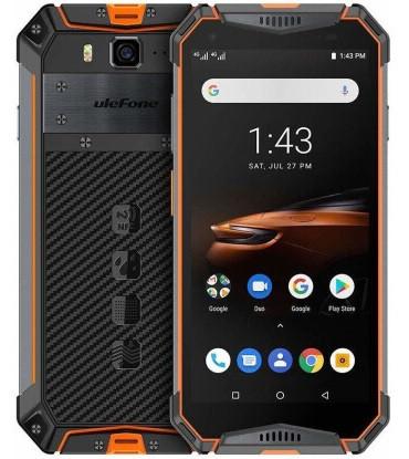 Смартфон Ulefone Armor 3W 6/64GB Orange, 10300mAh, 21/8Мп, 2sim, экран 5.7'' IPS, 8 ядер, IP69K