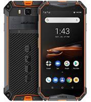 Смартфон Ulefone Armor 3W 6/64GB Orange, 10300mAh, 21/8Мп, 2sim, экран 5.7'' IPS, 8 ядер, IP69K, фото 1