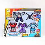 Набор трансформеров Tobot 4 шт. 83168-TB4, фото 2