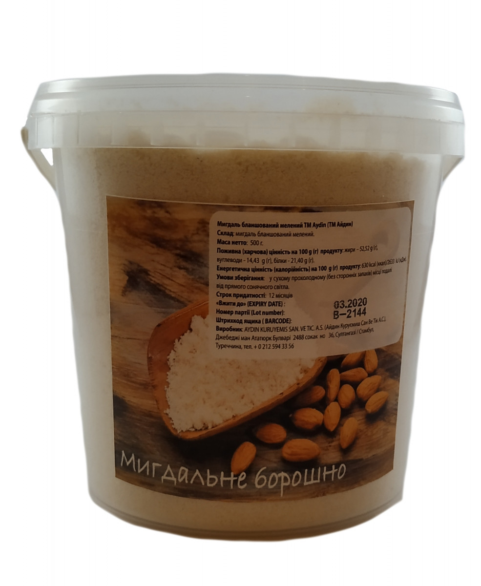 Миндальная мука 0,5 кг Турция