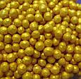 Кондитерская посыпка глазированный ВОЗДУШНЫЙ РИС 3 мм Золотой (50 грамм), фото 2
