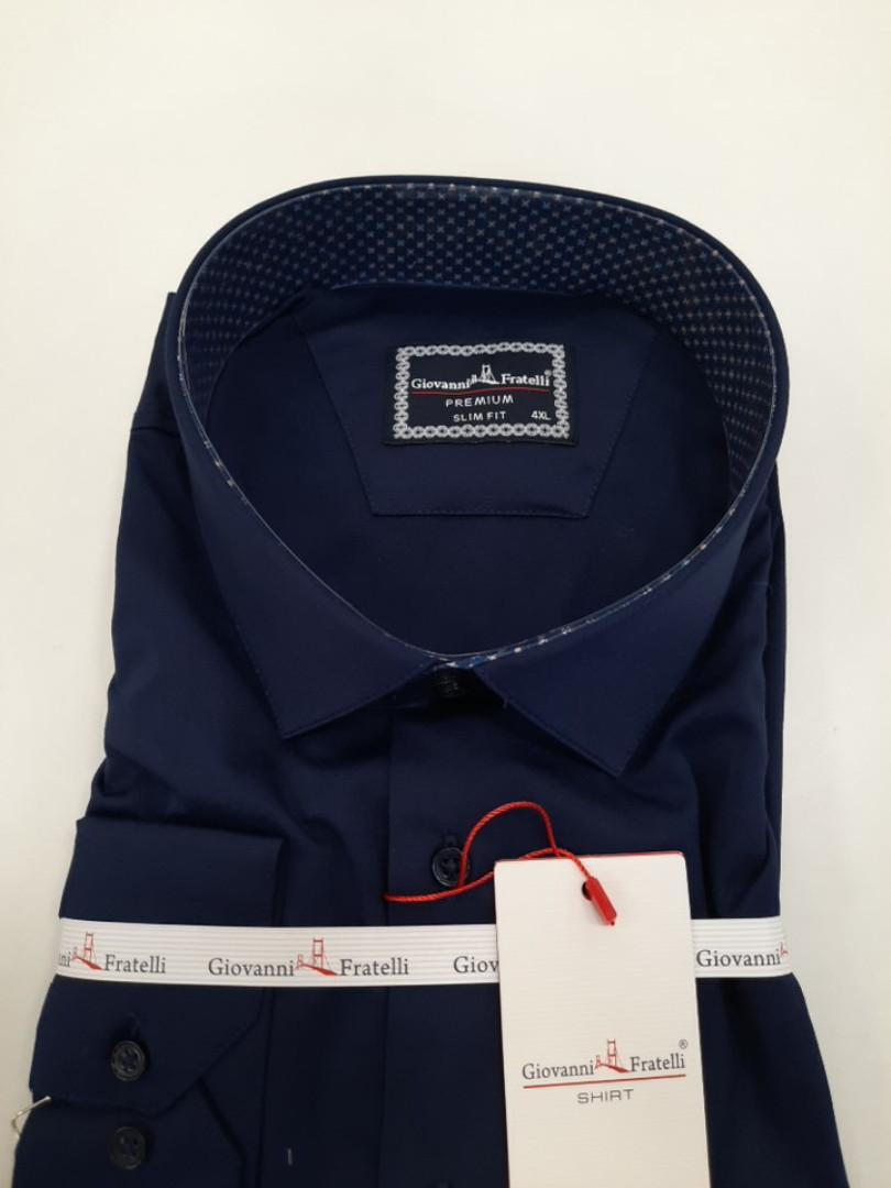 Рубашка мужская классическая  Giovanni Fratelli 3042 BT CR/SATIN