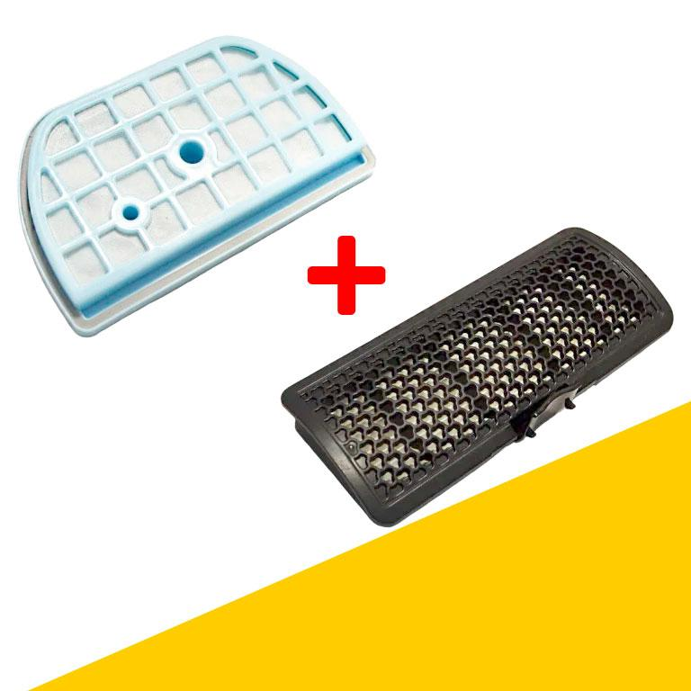 Комплект фильтров для пылесоса LG ADQ73393603 +ADQ73393407 VK70607HU, VK70602NU, VK69166N, VC33203UNTO, VK706R