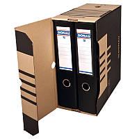Бокс для архивации документов 155 мм,коричневый (7663301PL-02)