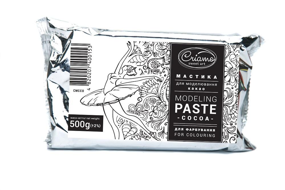 Мастика для тортов Criamo Премиум белая лепка 0,5 кг