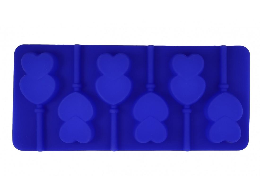 Форма силиконовая Сердечки 2
