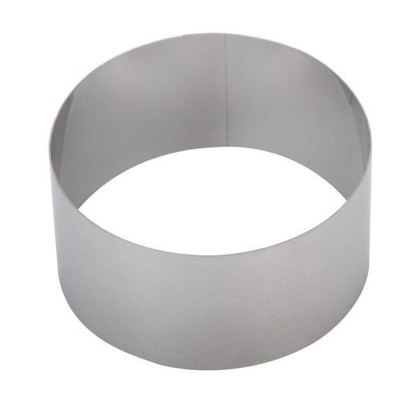 Кольцо для формирования тортов и десертов 28см, высота 10 см
