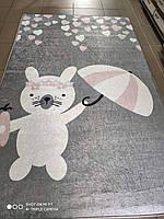 Ковер детский 100х160 безворсовый rabbit