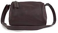 Повседневная бордовая женская сумка через плечо art.1106, фото 1