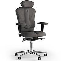 Кресло KULIK SYSTEM VICTORY Ткань с подголовником без строчки Серебристый 8-901-BS-MC-0505, КОД: 1668960