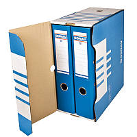 Бокс для архивации документов 155 мм,синий (7663301PL-10)