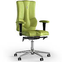 Кресло KULIK SYSTEM ELEGANCE Антара без подголовника без строчки Оливковый 10-909-BS-MC-0303, КОД: 1689476