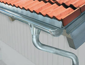 Водостічна система Titan-Zinc металева Zambelli 127/80 з оцинкованої сталі для котеджу і вдома