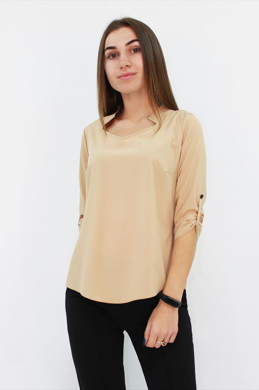 Стильна жіноча блузка Rina, бежевий